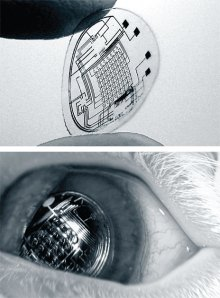 Not your average contact lens.