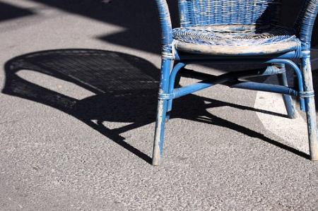 Chair in Sun